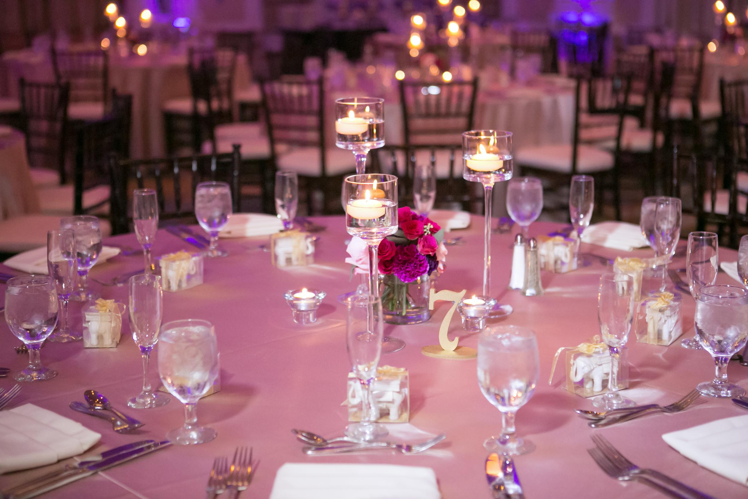 winsor event studio candles centerpiece wedding