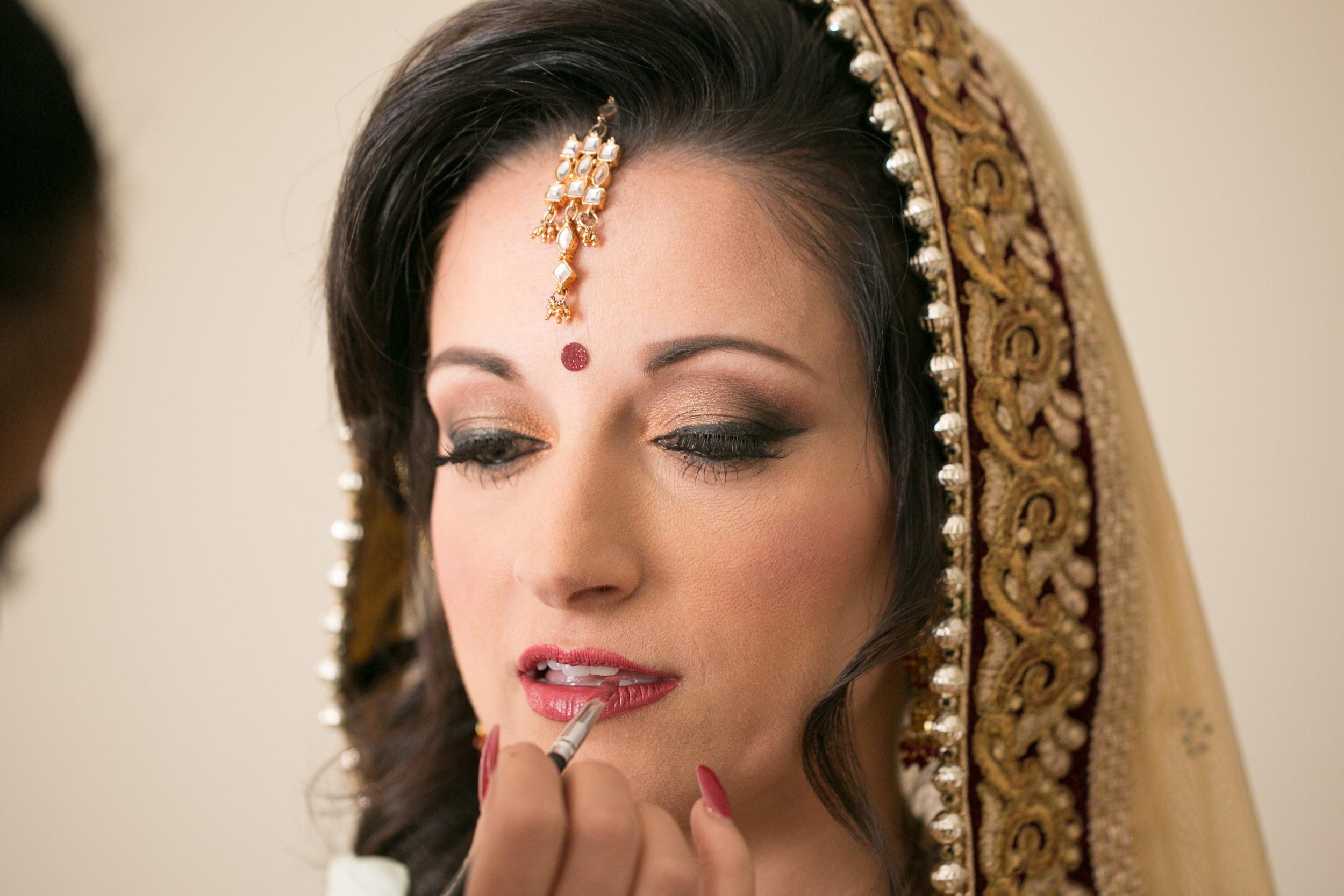 winsor event studio indian wedding bride