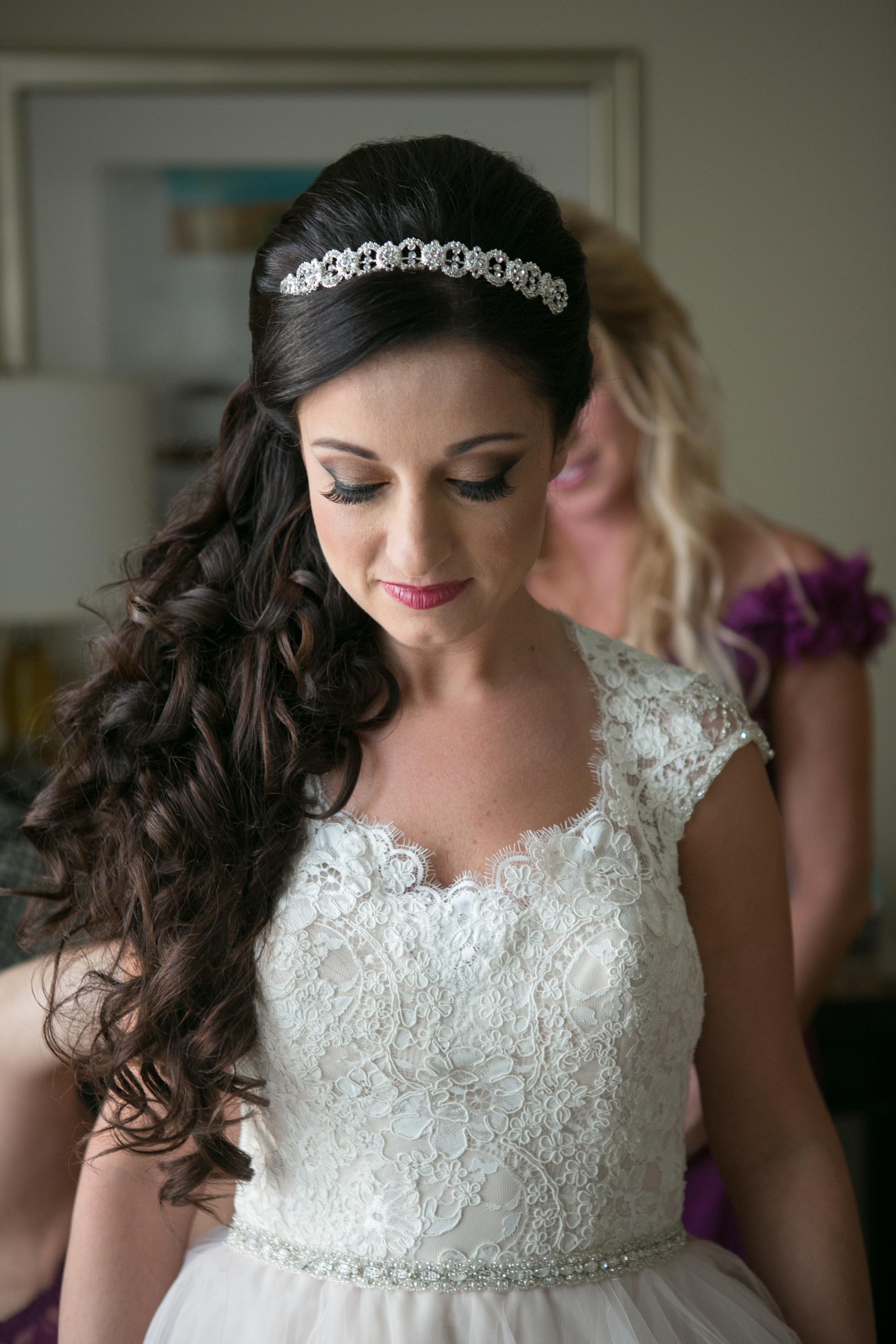 winsor event studio bride wedding hair makeup