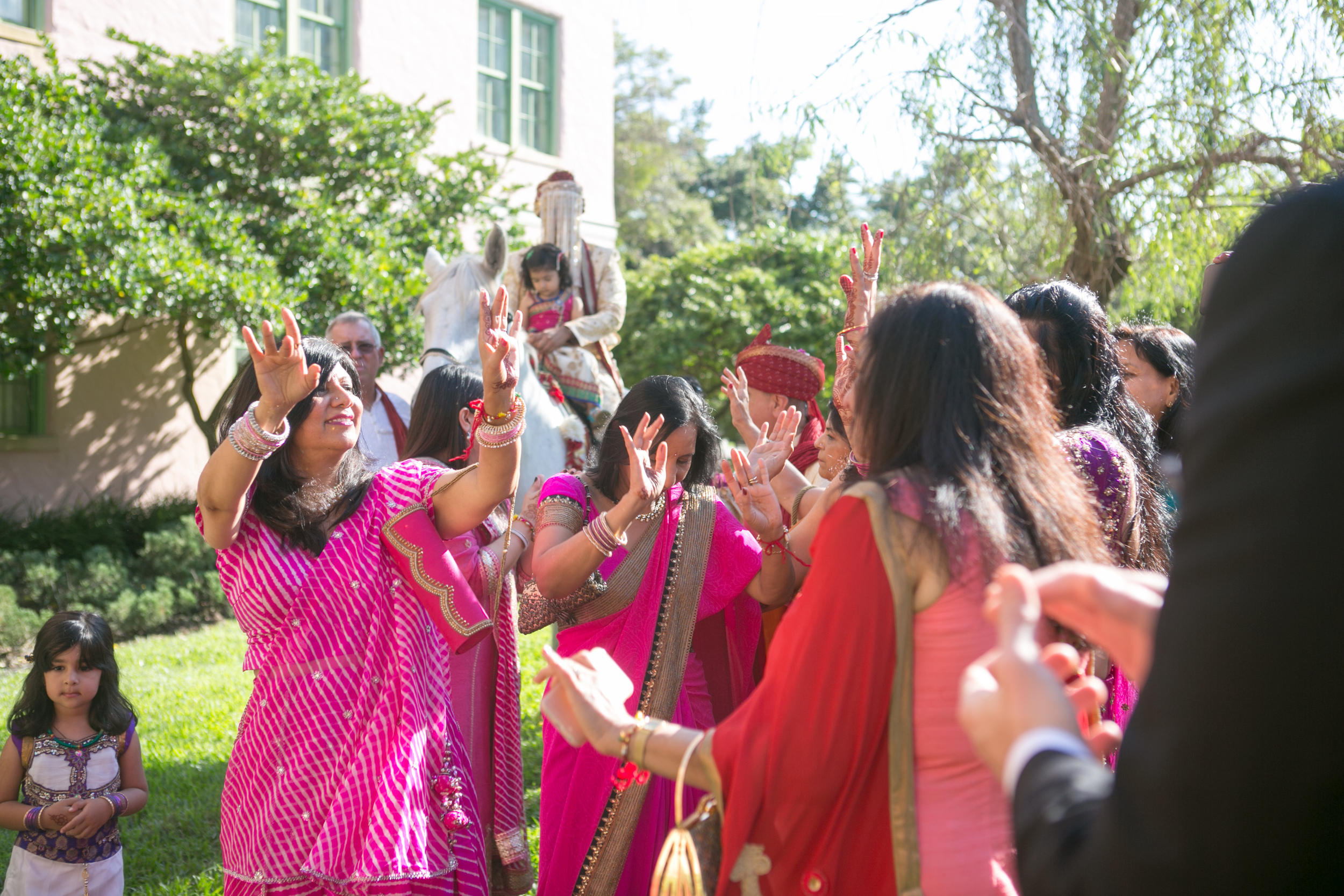 winsor event studio indian wedding baraat