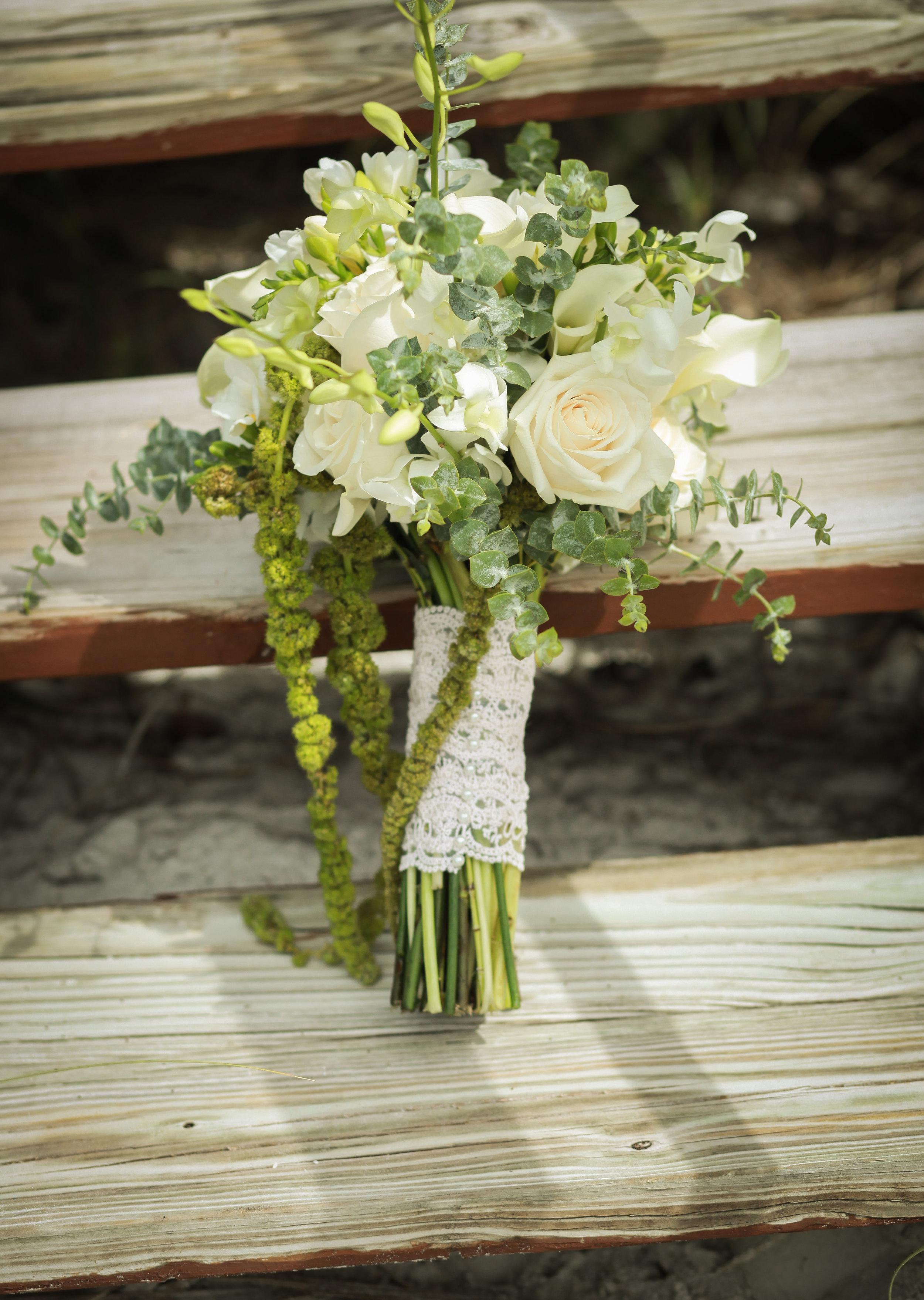 winsor event studio natural bouquet greenery foliage