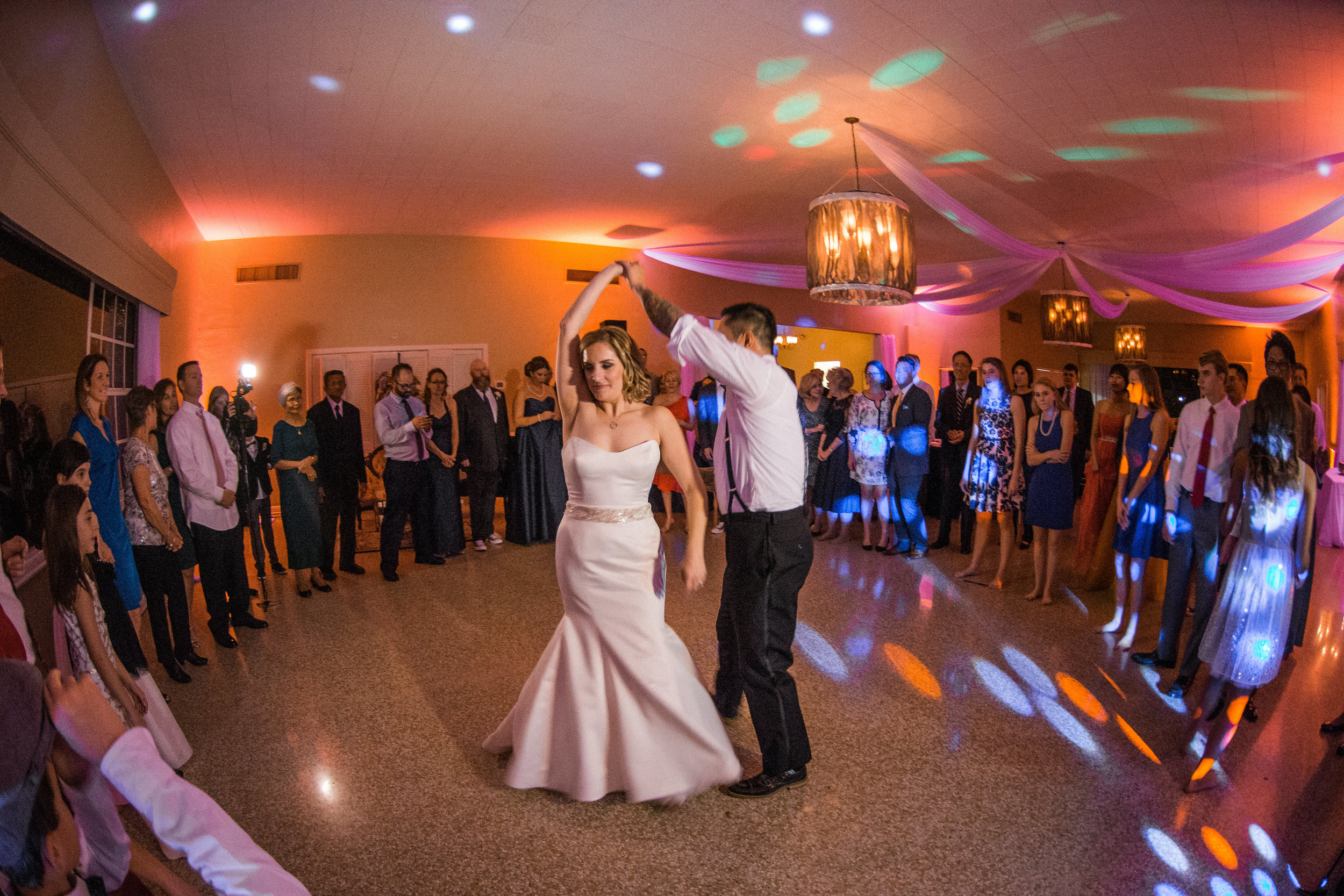 winsor event studio davis islands garden club wedding reception uplighting