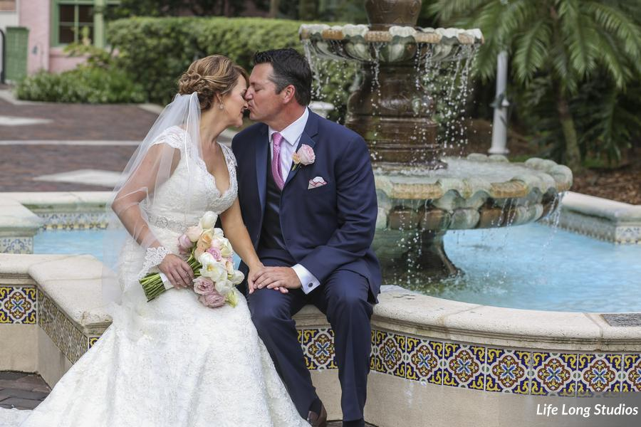 How gorgeous are these two? Their wedding attire was STUNNING!
