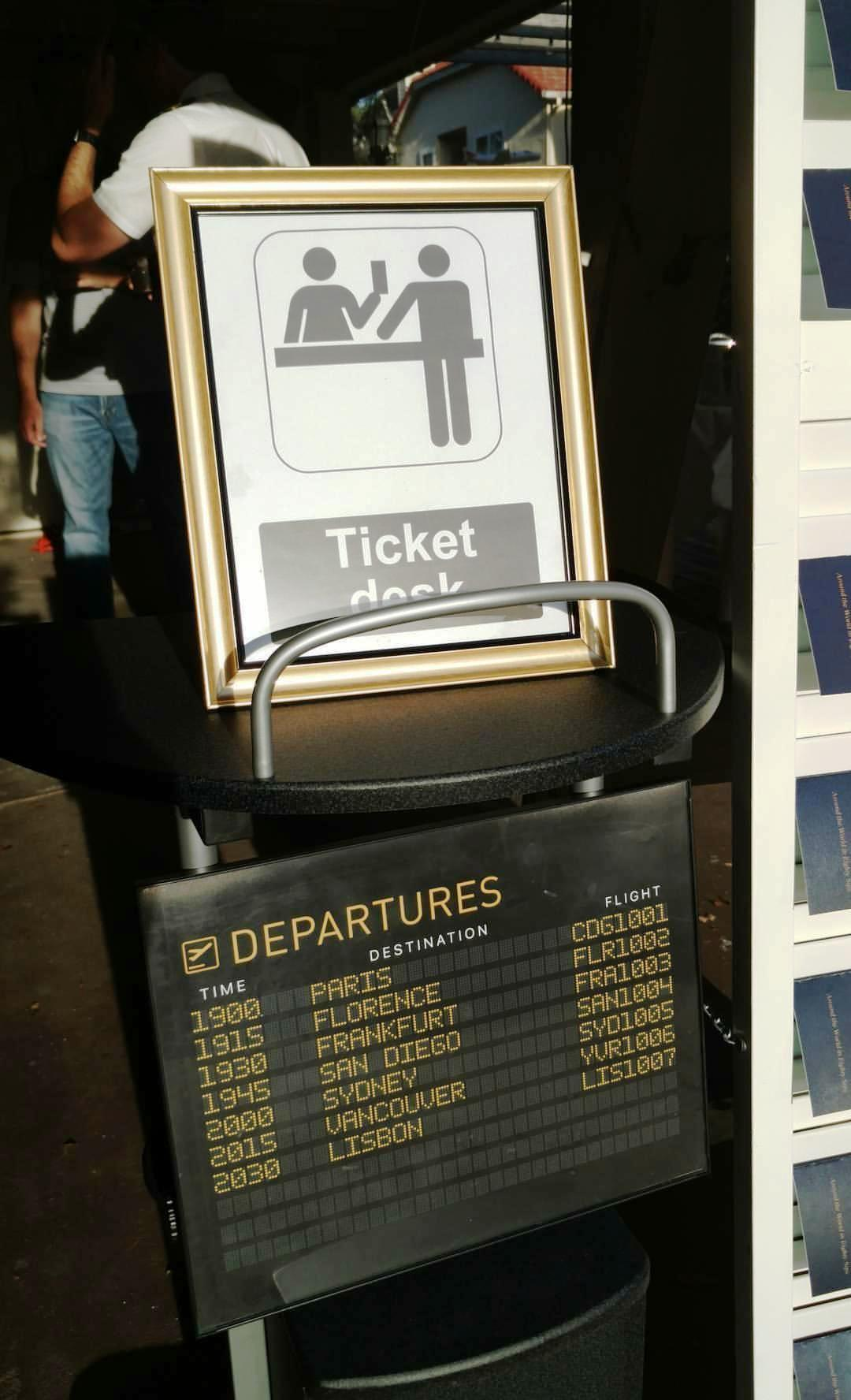 You can commission your own  departure board here