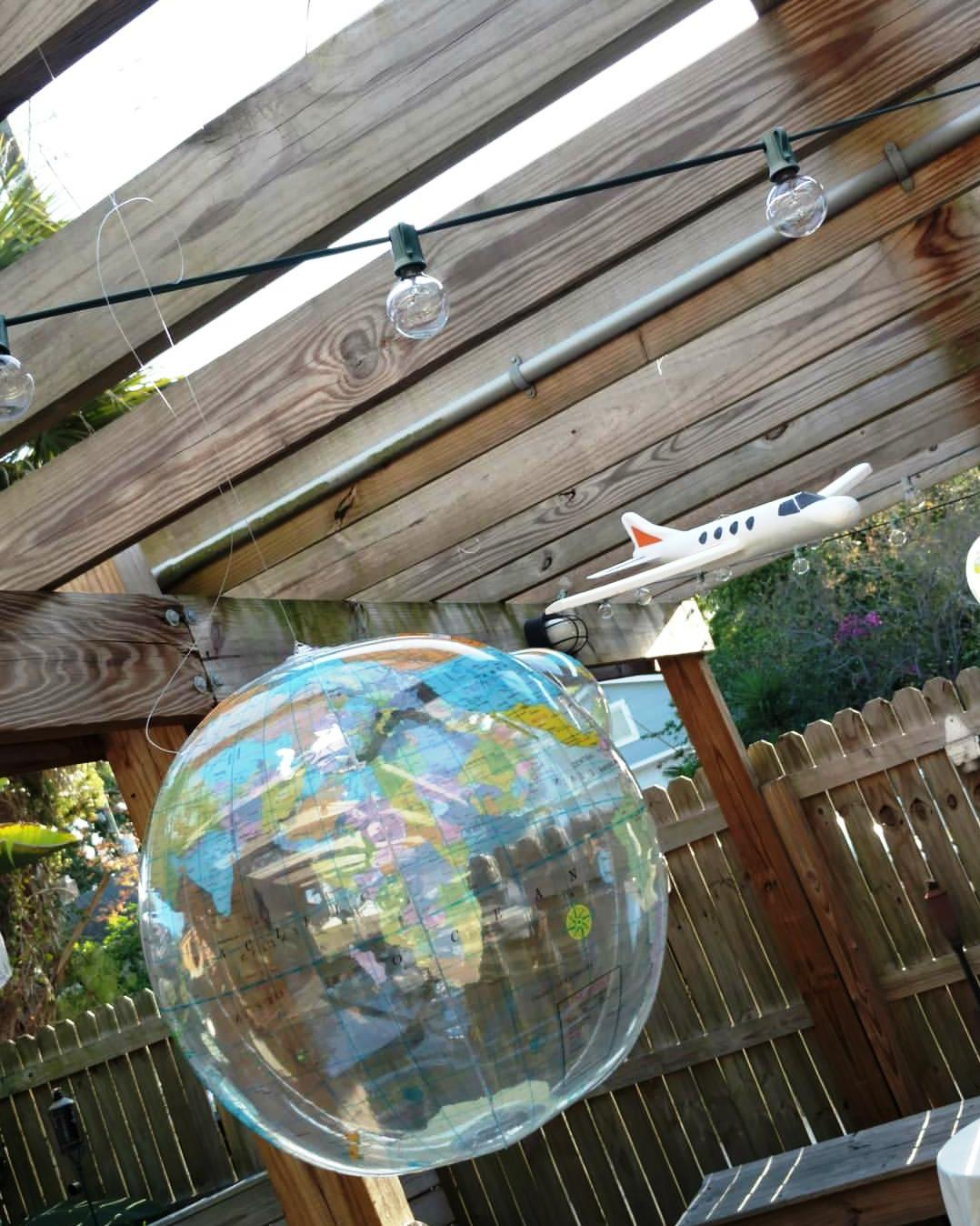 Looking for inflatable globes?   Click here