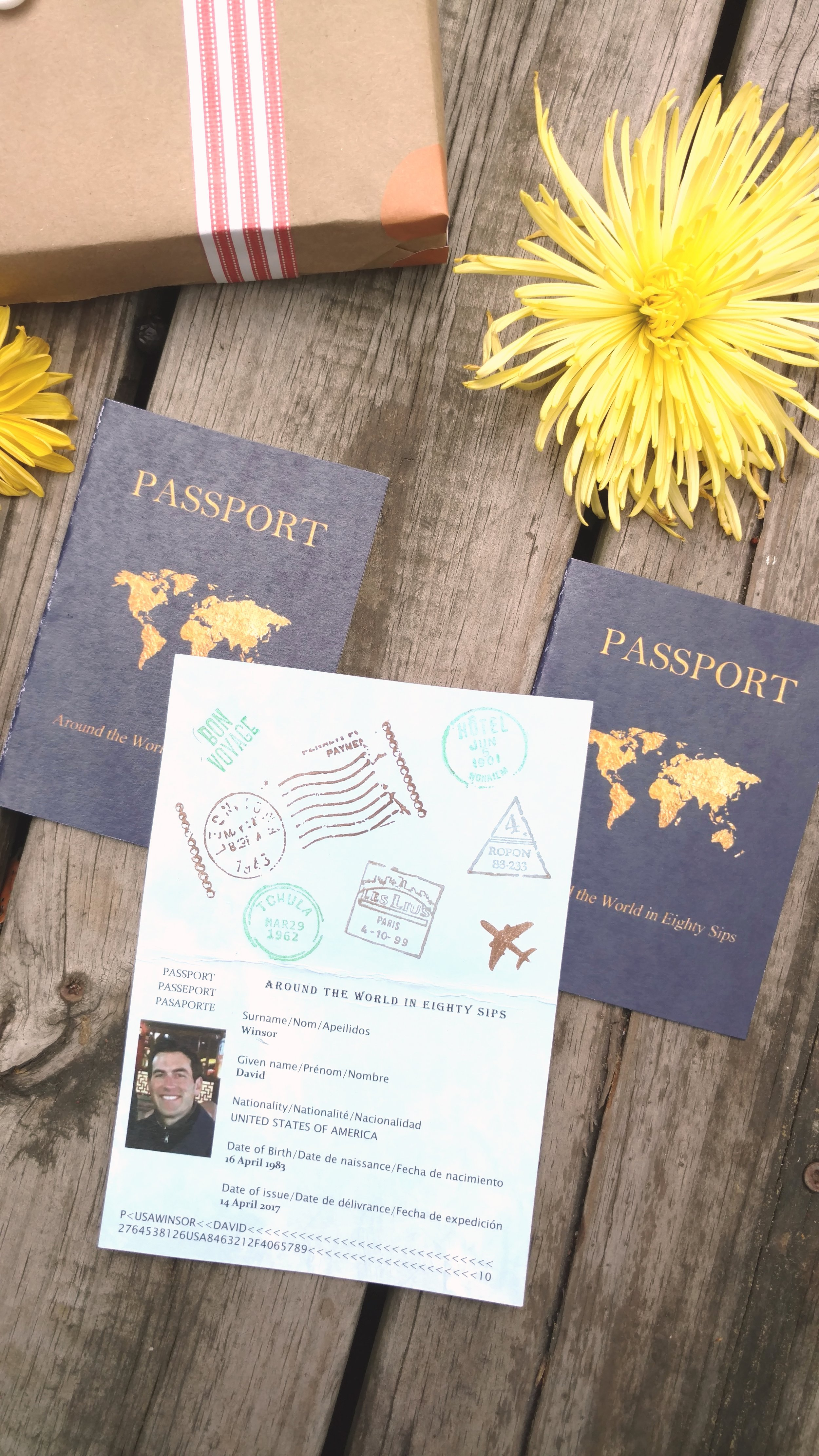 Want to print your own passports?   Here's the listing  I used
