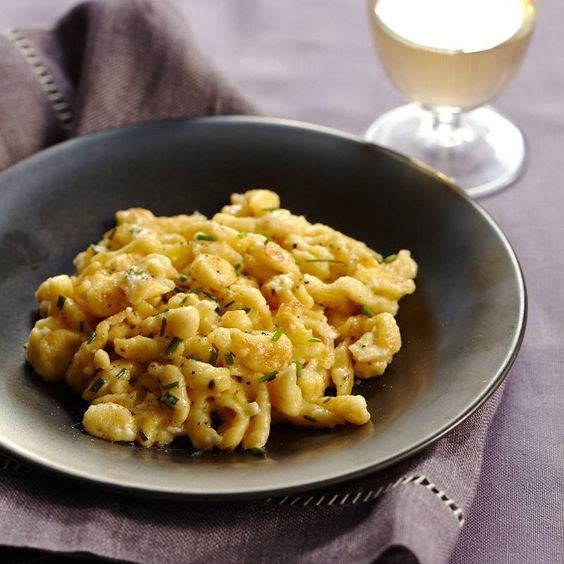 Fresh Cheese Spaetzle by Food & Wine Magazine