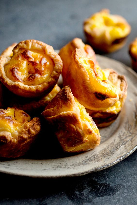 Portuguese Egg Custard Tarts via The New York Times