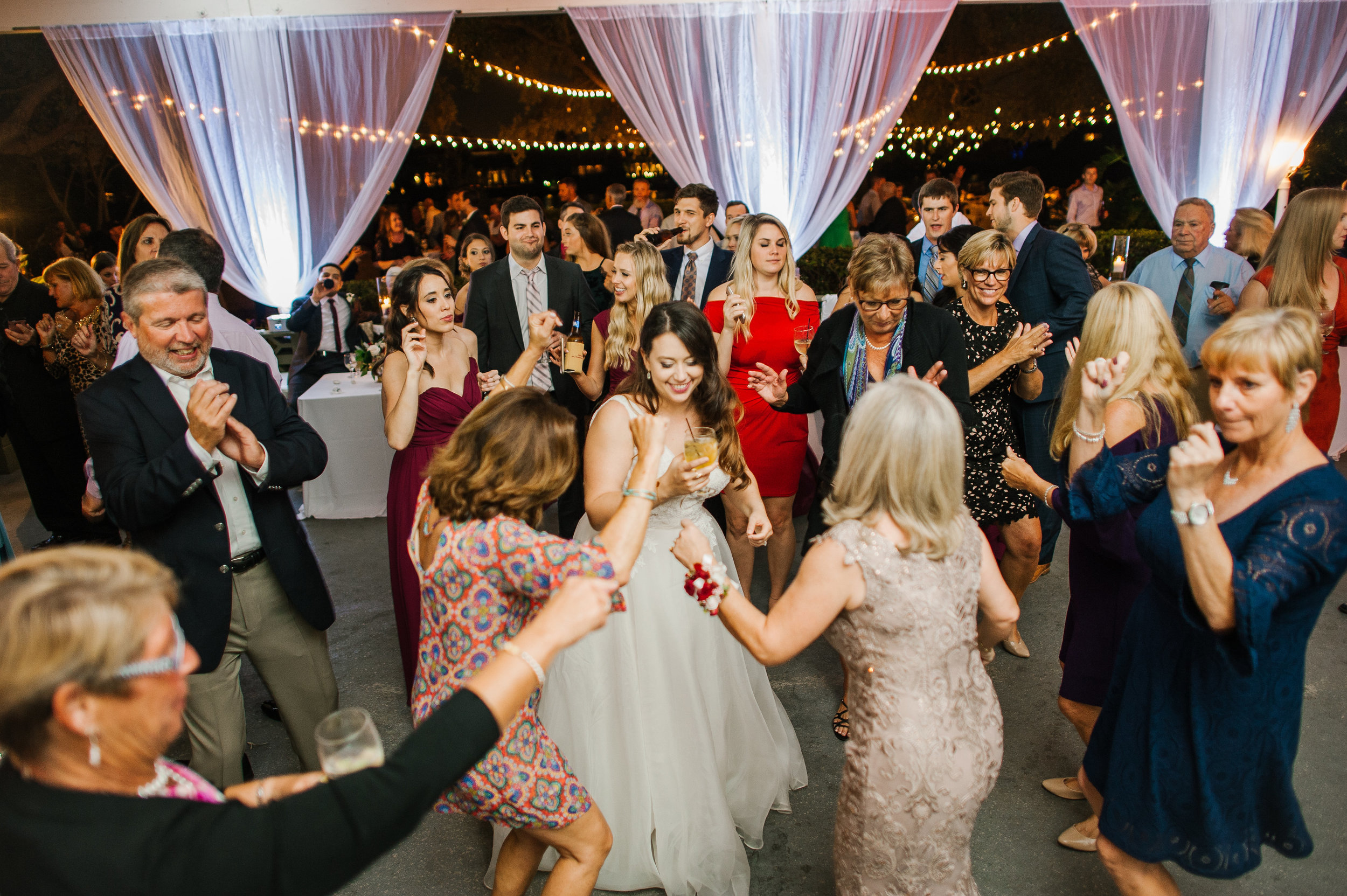 Love and laughter flowed through this elegant and romantic wedding filled with personal details.