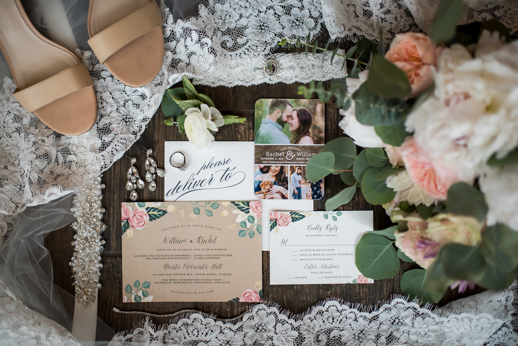 winsor event studio rustic vintage wedding stationery invitation