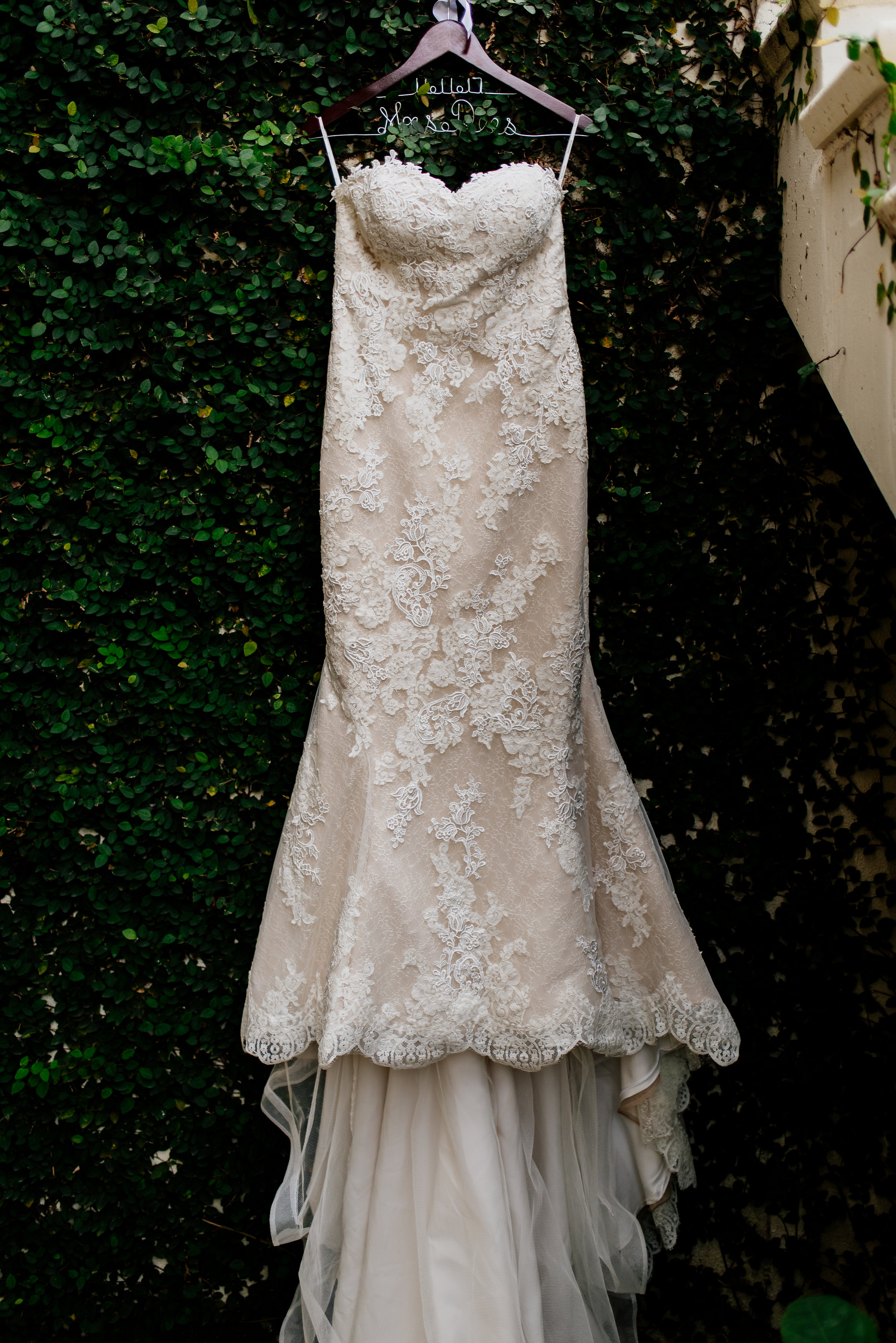 winsor event studio lace wedding gown