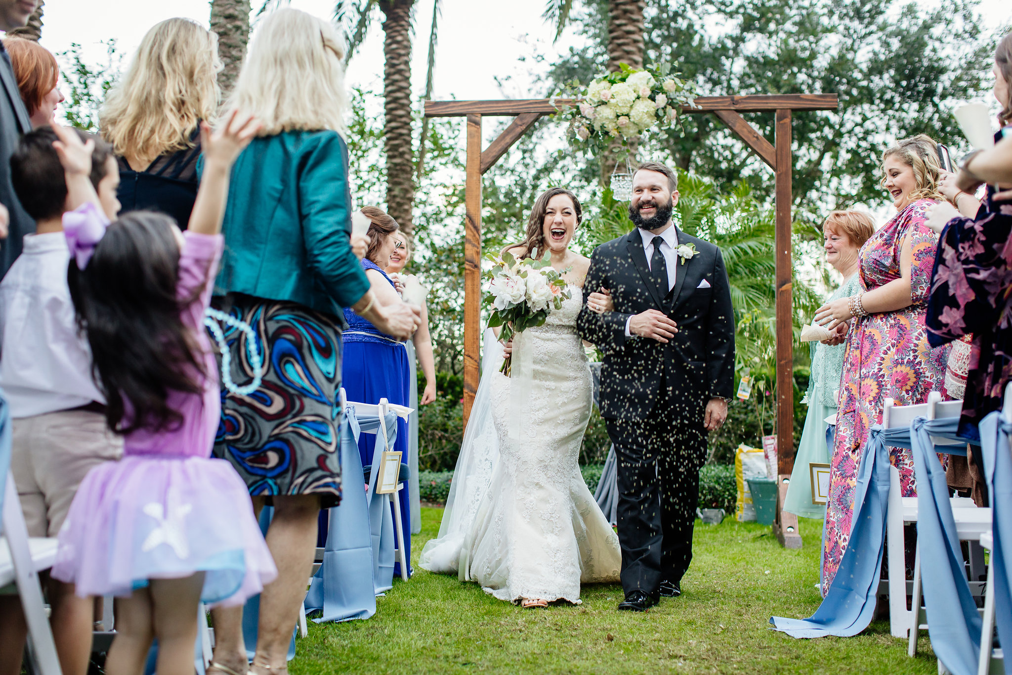 winsor event studio nocatee crosswater hall wedding ceremony