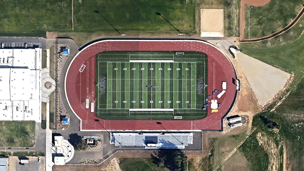 Yuba college stadium arial.jpg