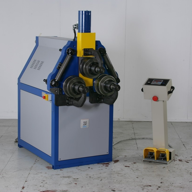 Hyraulic-roll-bender-with-cnc-control