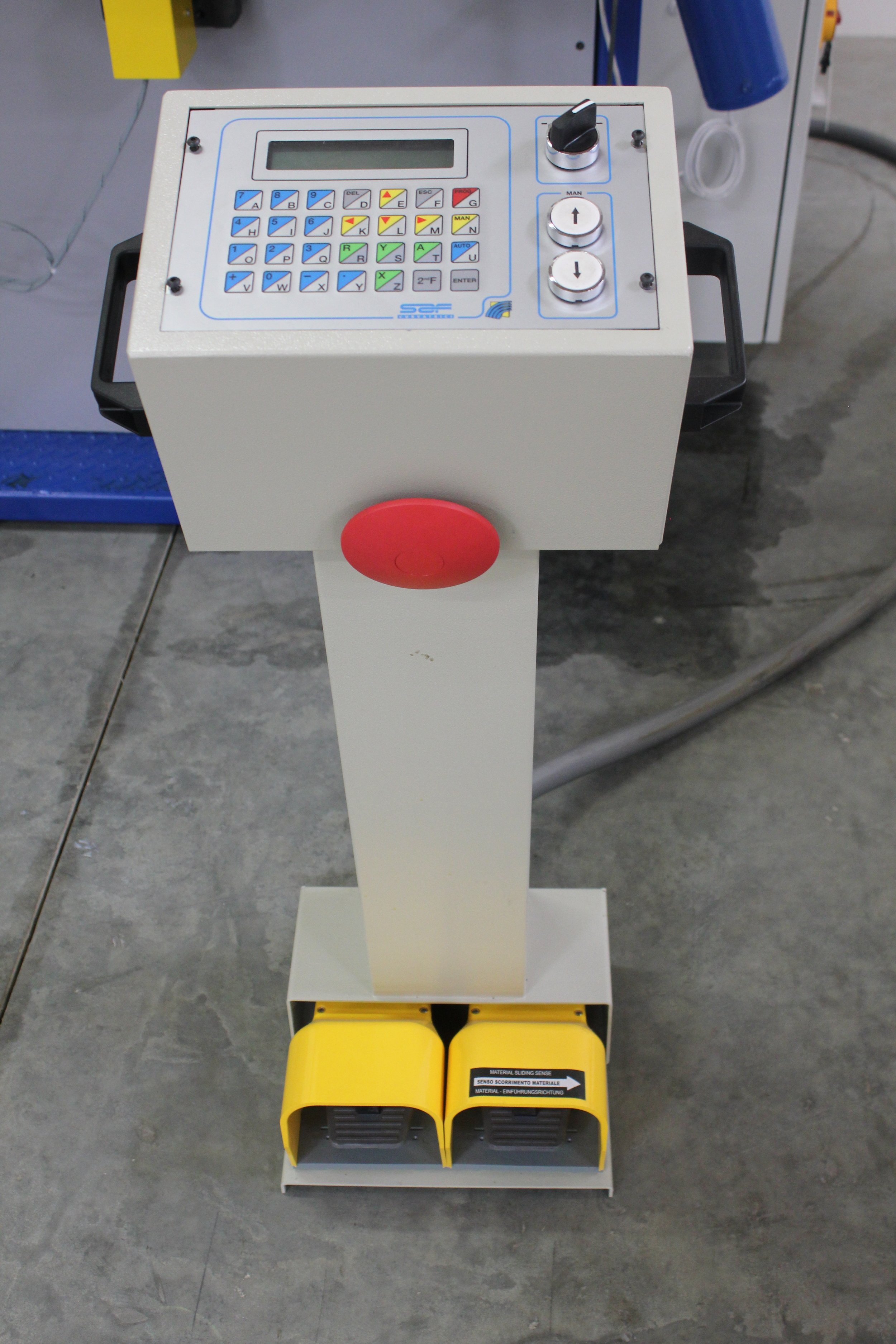 Tauring and SAF - CNC-C Control
