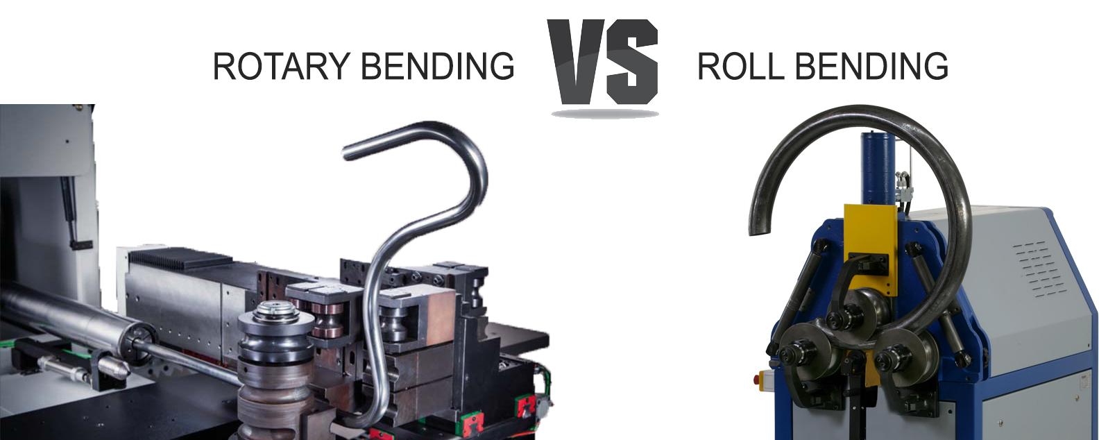 Rotary Bending VS Roll Bending