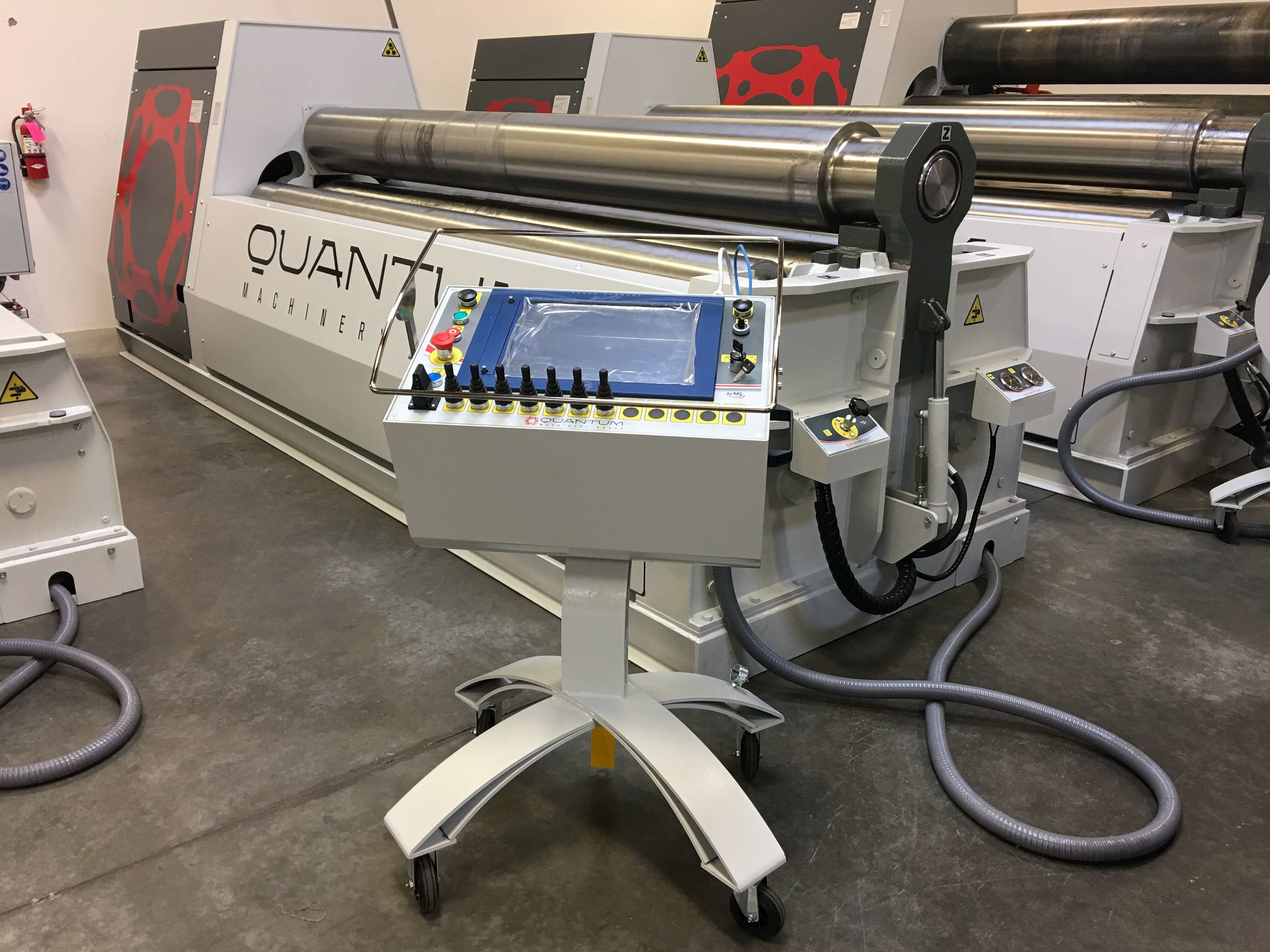 Quantum Machinery plate roller
