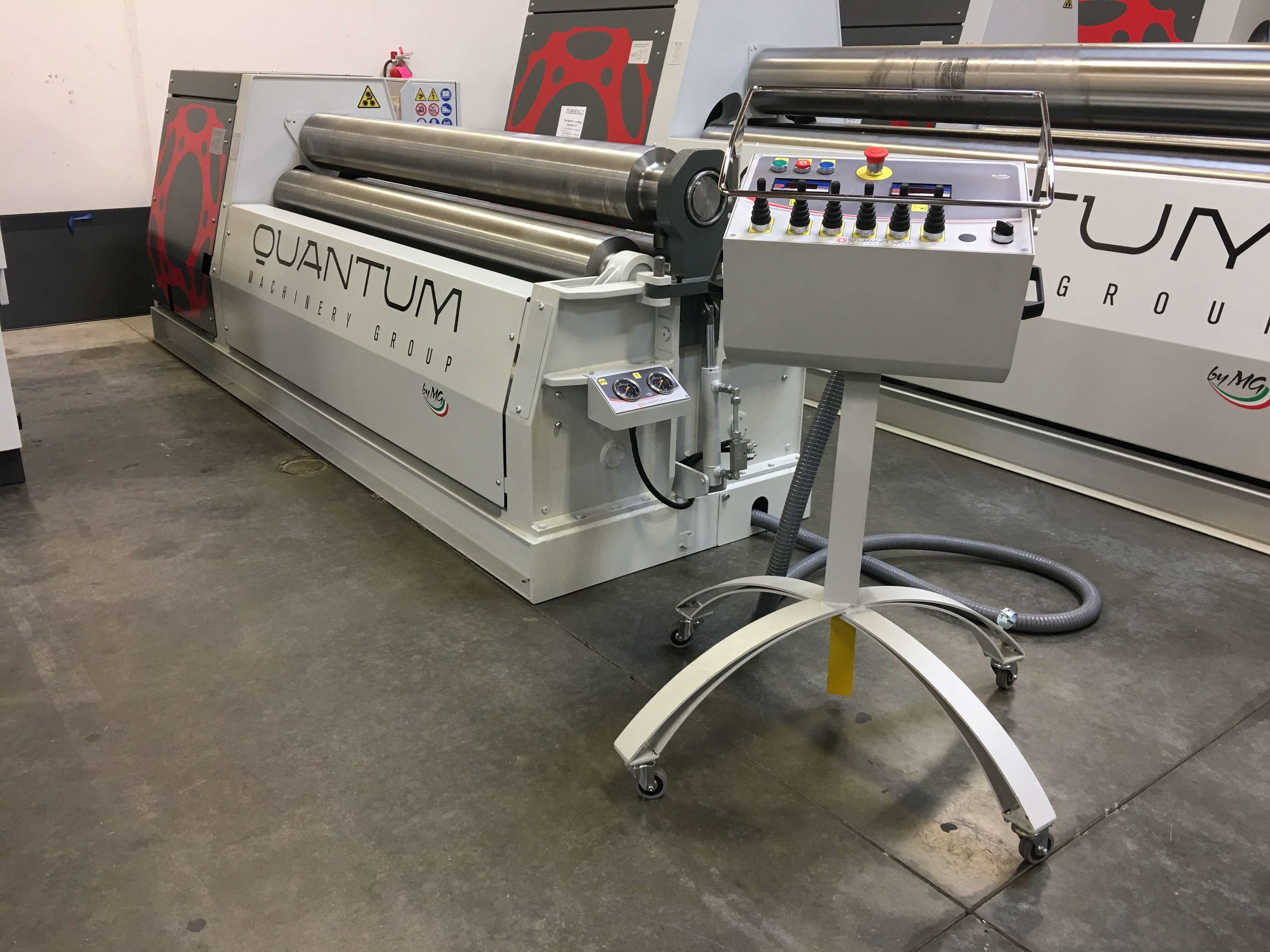 Quantum Machinery Group 3 roll plate roll