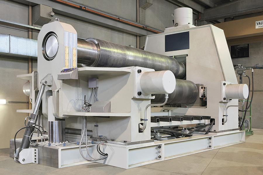 industrial plate roller