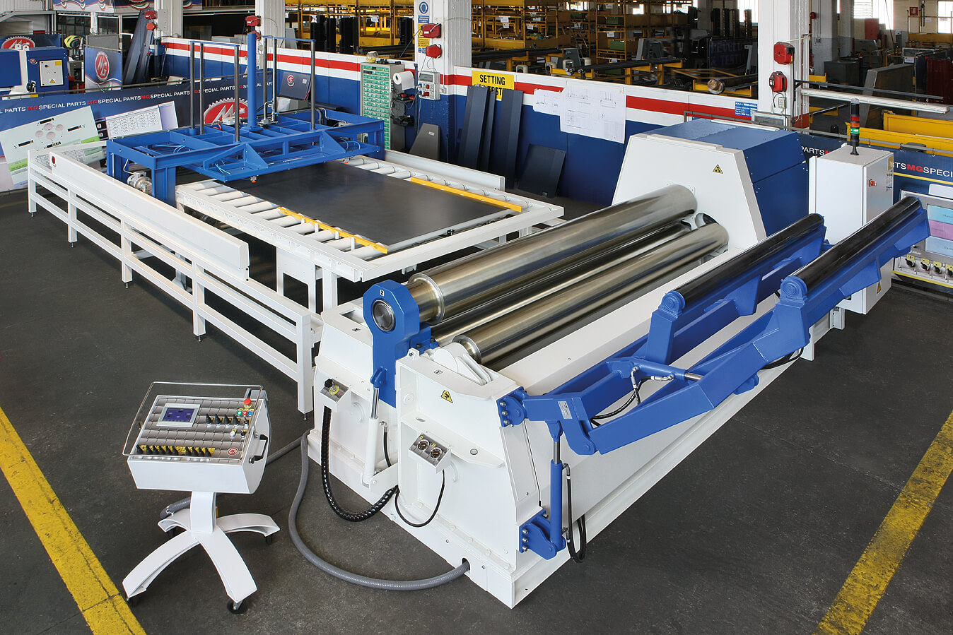 plate roller in manufacturing