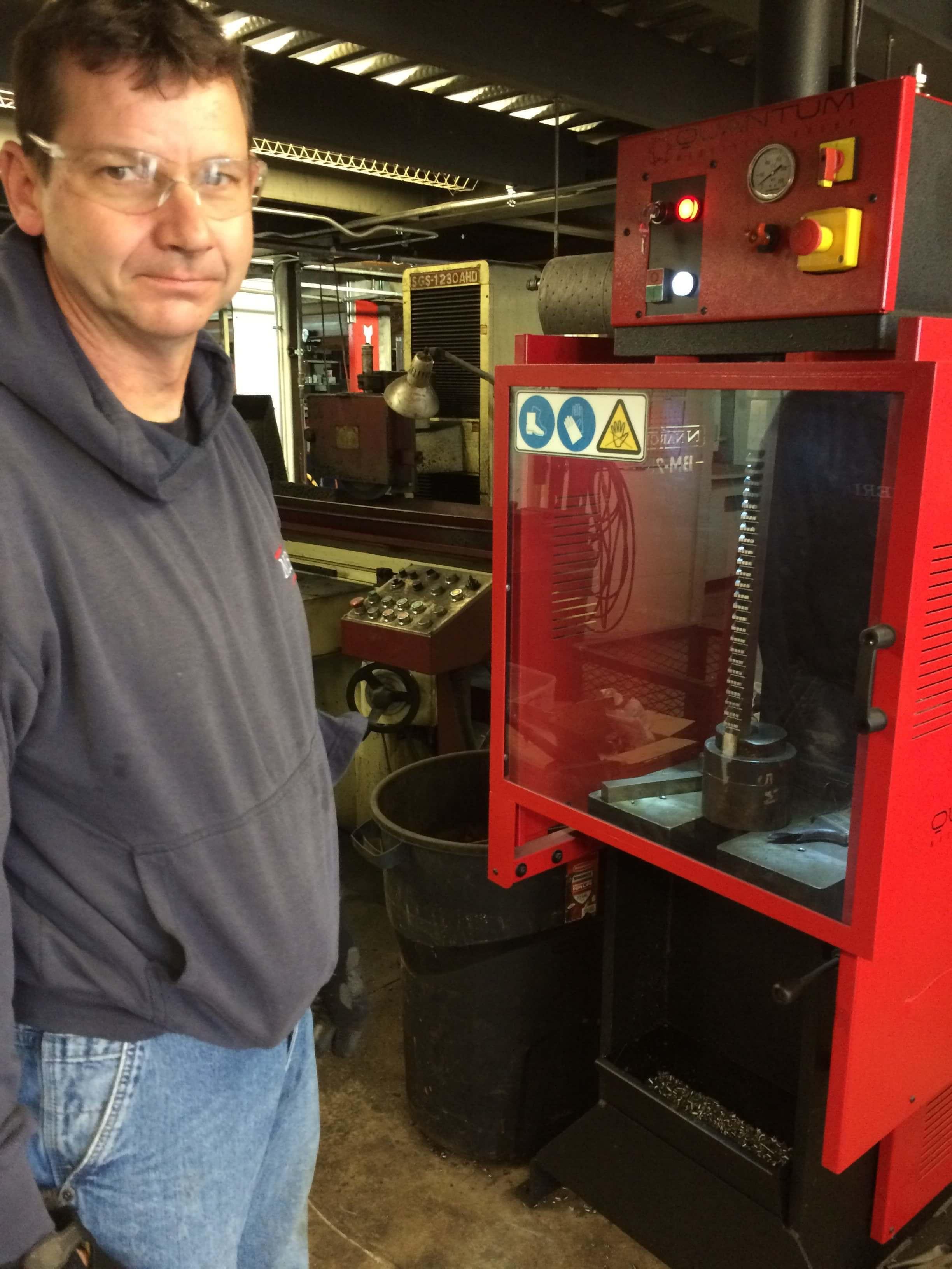 Madison Environmental Resourcing, Inc. - BM25 Broaching Machine