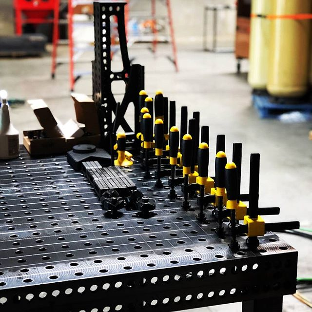 Welcome to the Quantum Machinery family!! Repost @cjbauerthefabricator -  Beyond excited today 😜 received abeautiful @Quantum_machinery weld table with accessories that are next level. Awesome upgrade to the welding operation. Final stages of construction underway at new shop, good things to come soon......🙌🏻🇺🇸👨‍🏭 #quantummachinery #quantumnation #welder #welders #welding #ig #miller #maxstar #quantumtable #stainlesssteel #fabrication #processpiping #sanitary #asmebpe #asme #tig #tigwelding #GTAW #madeinchino #california #biotechnology #triclamp #tuesday