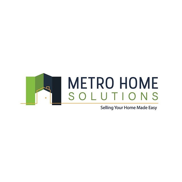 We have a new love for real estate logos! Here is another we designed for @metrohomesolutions ! 🏘