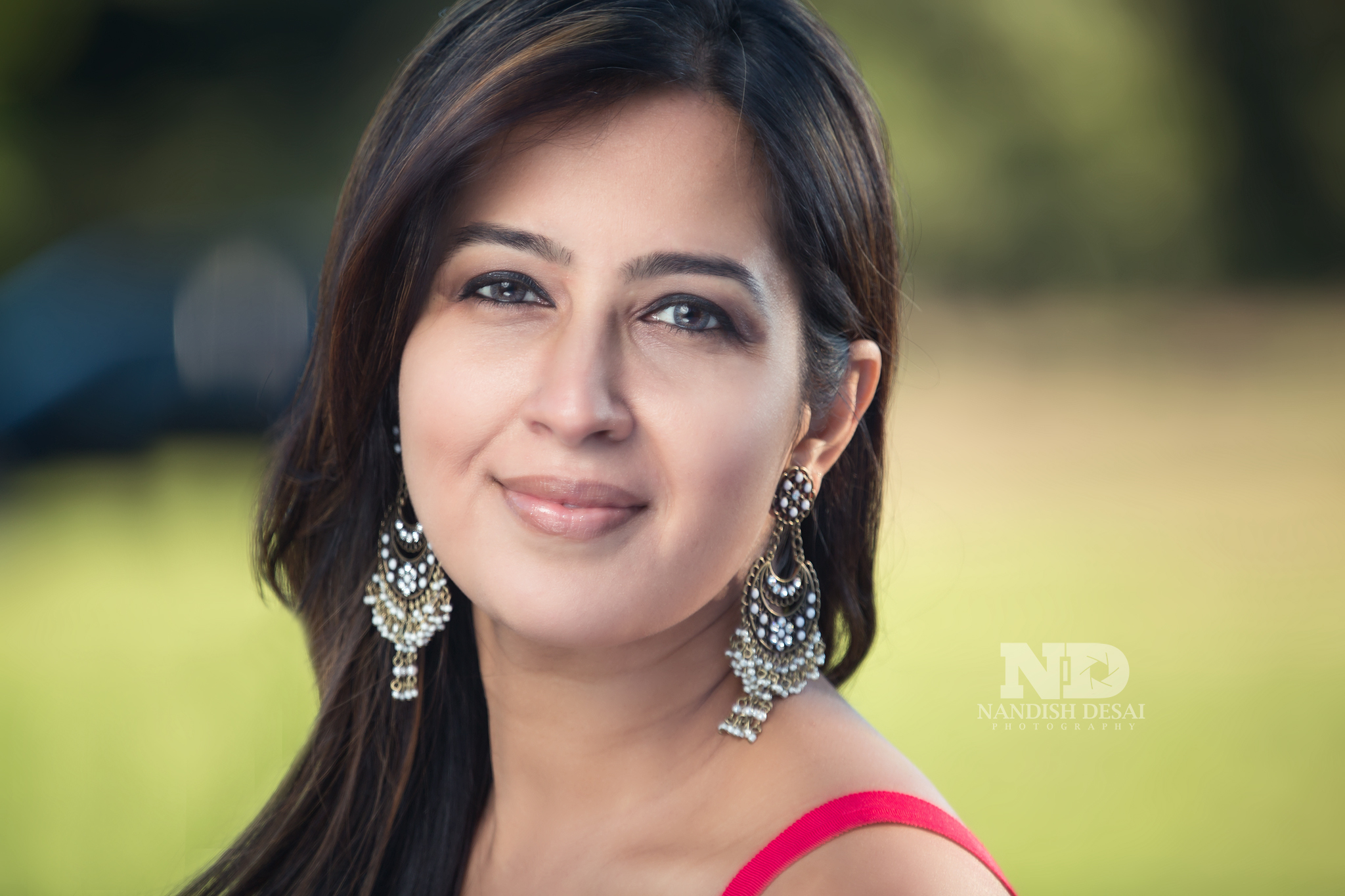 The session started with a headshot of this beautiful model Shamima.