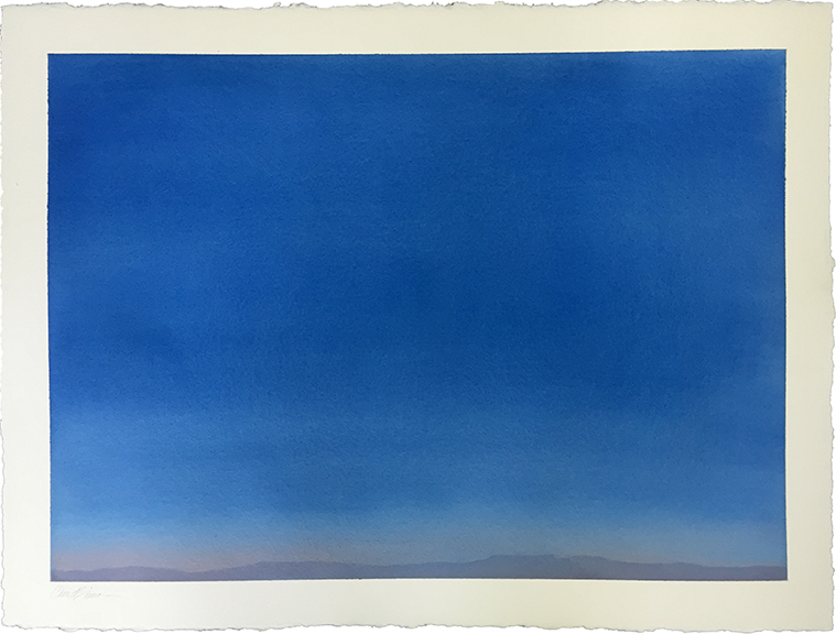 """Landscape 2 , 2015 Watercolor on paper, 22"""" x 30""""  Available"""