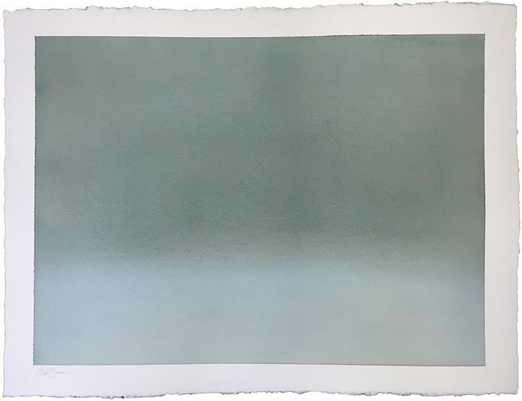 """Air 2, 2015 Watercolor on paper, 22"""" x 30""""  SOLD"""