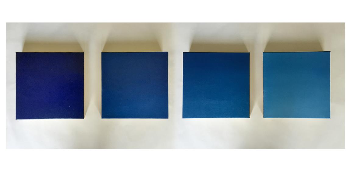 "Dawn, 2015 Oil on canvas, 4 - 8"" x 8""  Available"