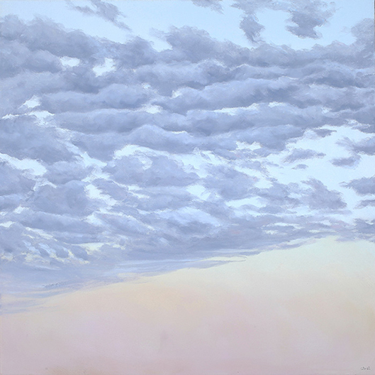 """Atmospheric Condition, No 4 , 2013 Oil on canvas,24"""" x 24""""  SOLD"""