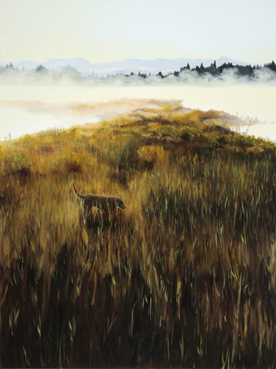 """Donnelly Morning , 2011 Oil on canvas, 40"""" x 30""""  Available"""
