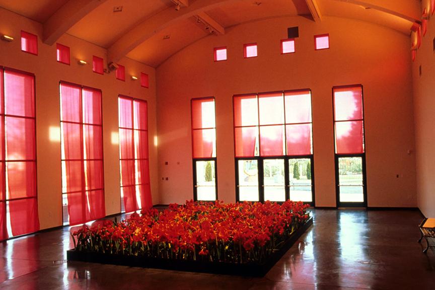 Garden , 1999-2000 Boise Art Museum, Boise, Idaho