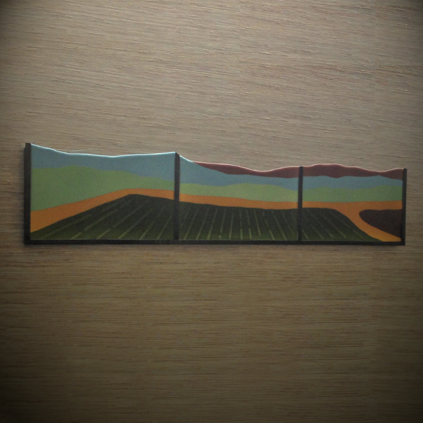 Field , 2014 Fused Glass and metal, size In collaboration with Christopher Gibson and Michael Cordell Collection: Saint Alphonsus Regional Medical Center