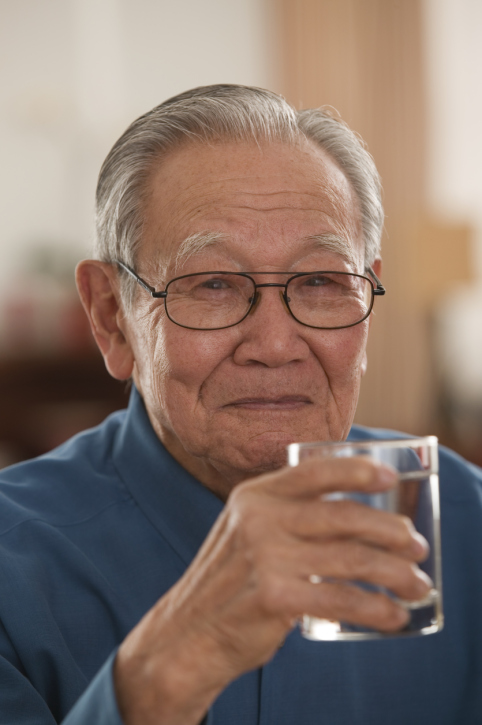 Dehydration of elderly patients can lead to wrongful death.