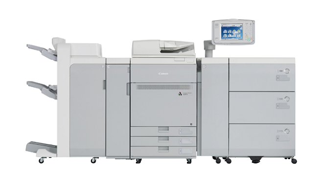 Our Canon imagePress c700 creates beautiful short-run color pieces, allowing us to offer a wide range of variable data solutions.