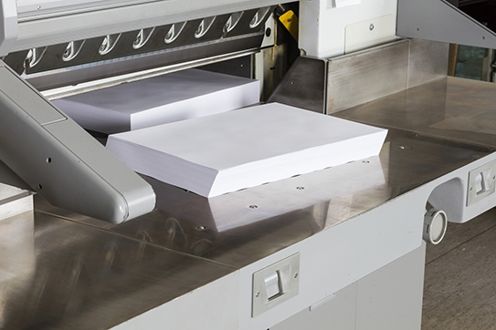 Our bindery is full equipped to bring the vision of your printed piece to life.