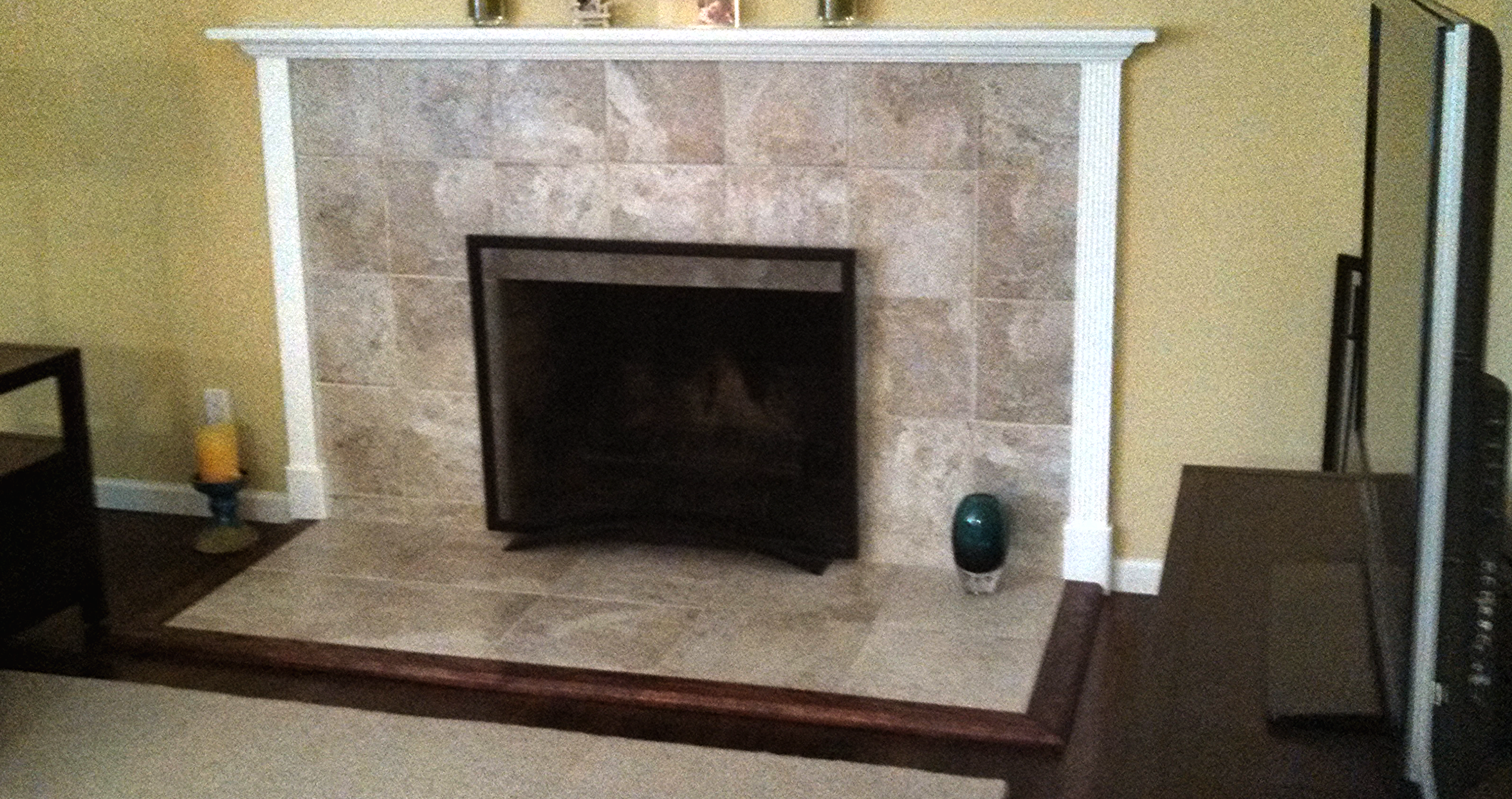 Fireplace- After