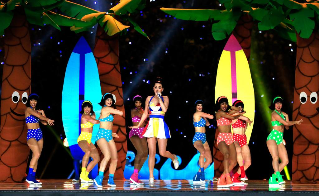 Katy Perry Superbowl Halftime show 2015