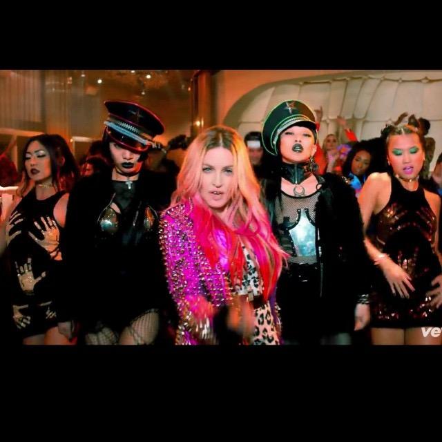 "Madonna ""Bitch I'm Madonna"" Music video"