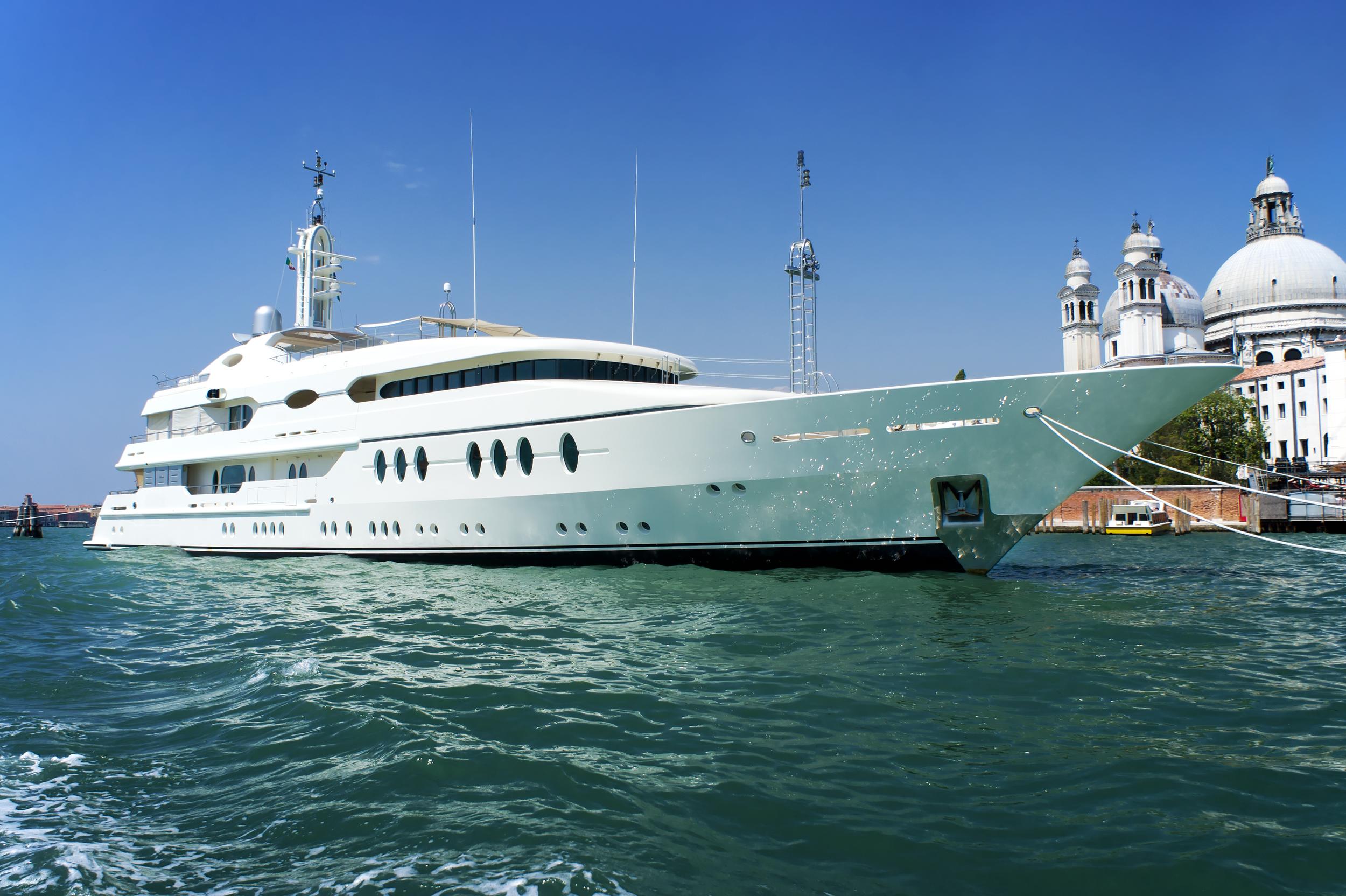 Large Luxury Yatch