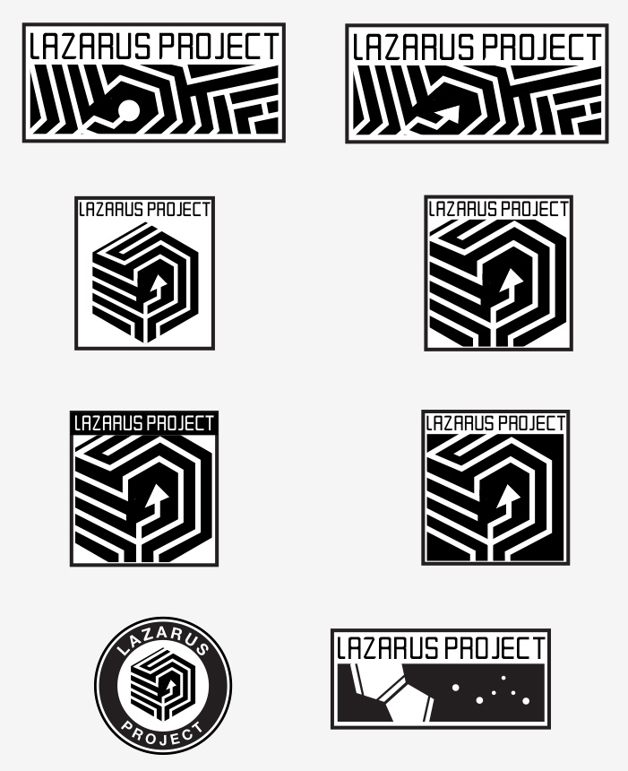 Logo Designs for Film's UI and onscreen branding