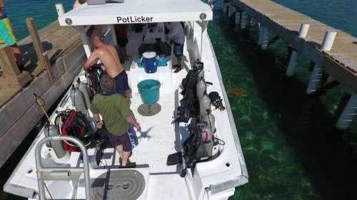 Potlicker our main Tec boat