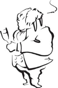 The Wayfarer walrus logo