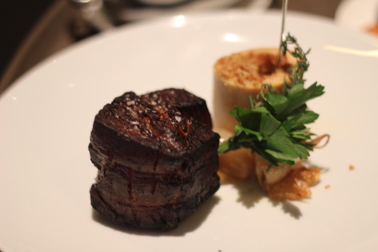 filet mignon with bone marrow