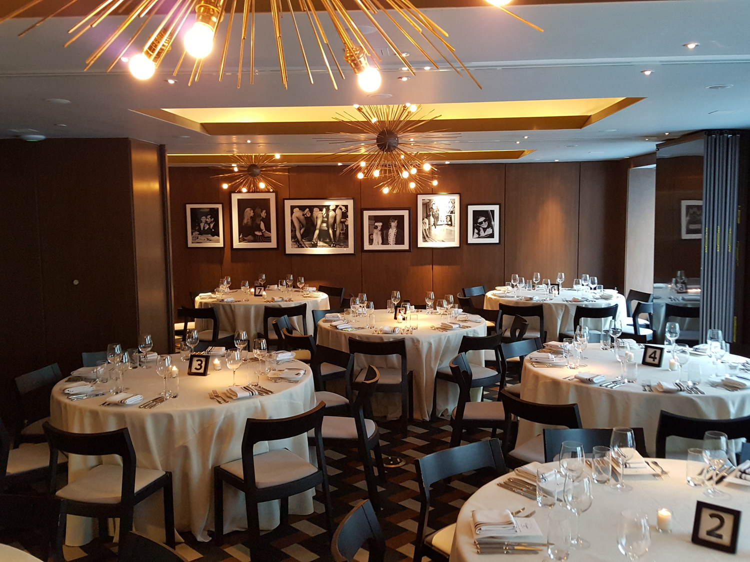 private dining room setup
