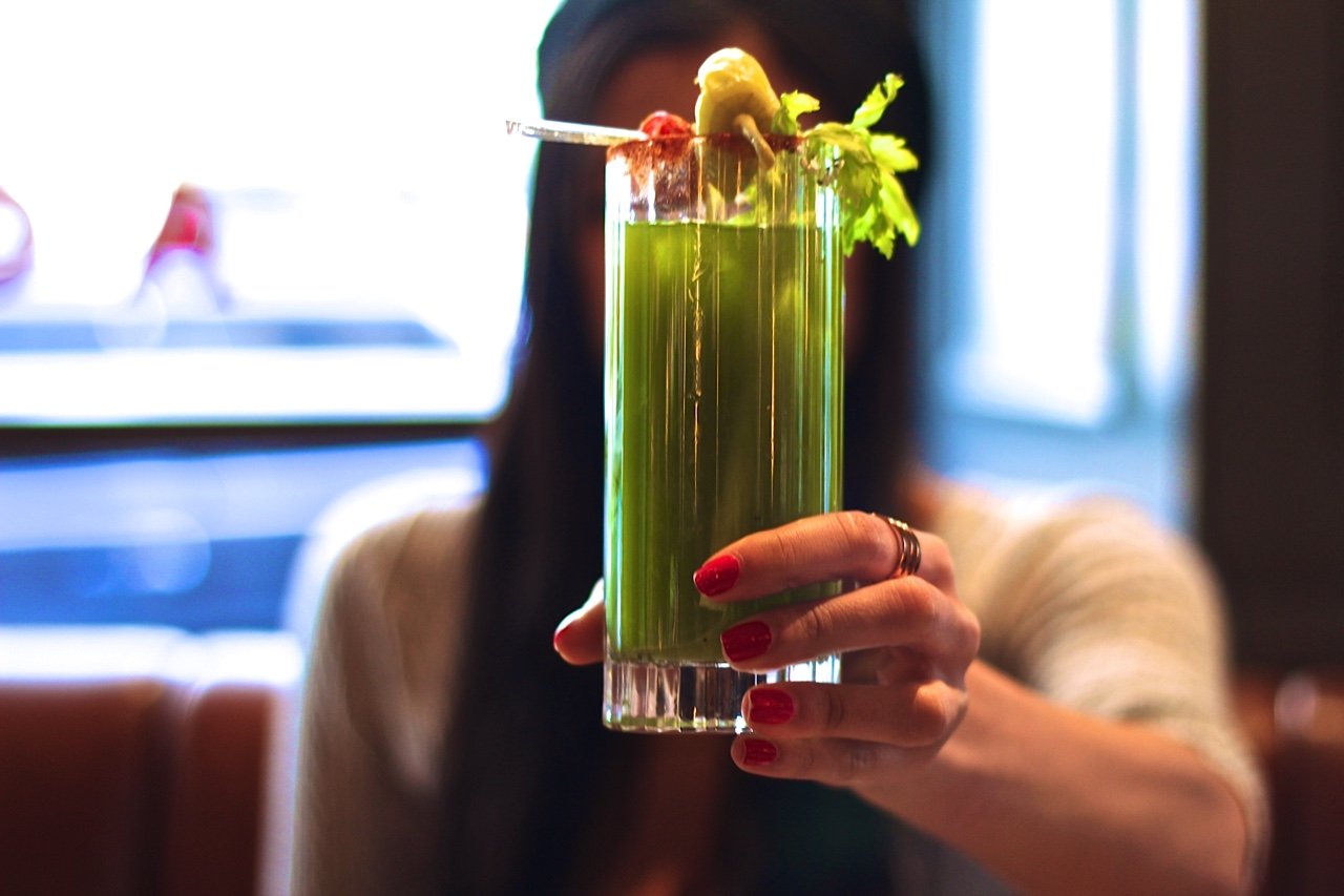 green juice bloody mary