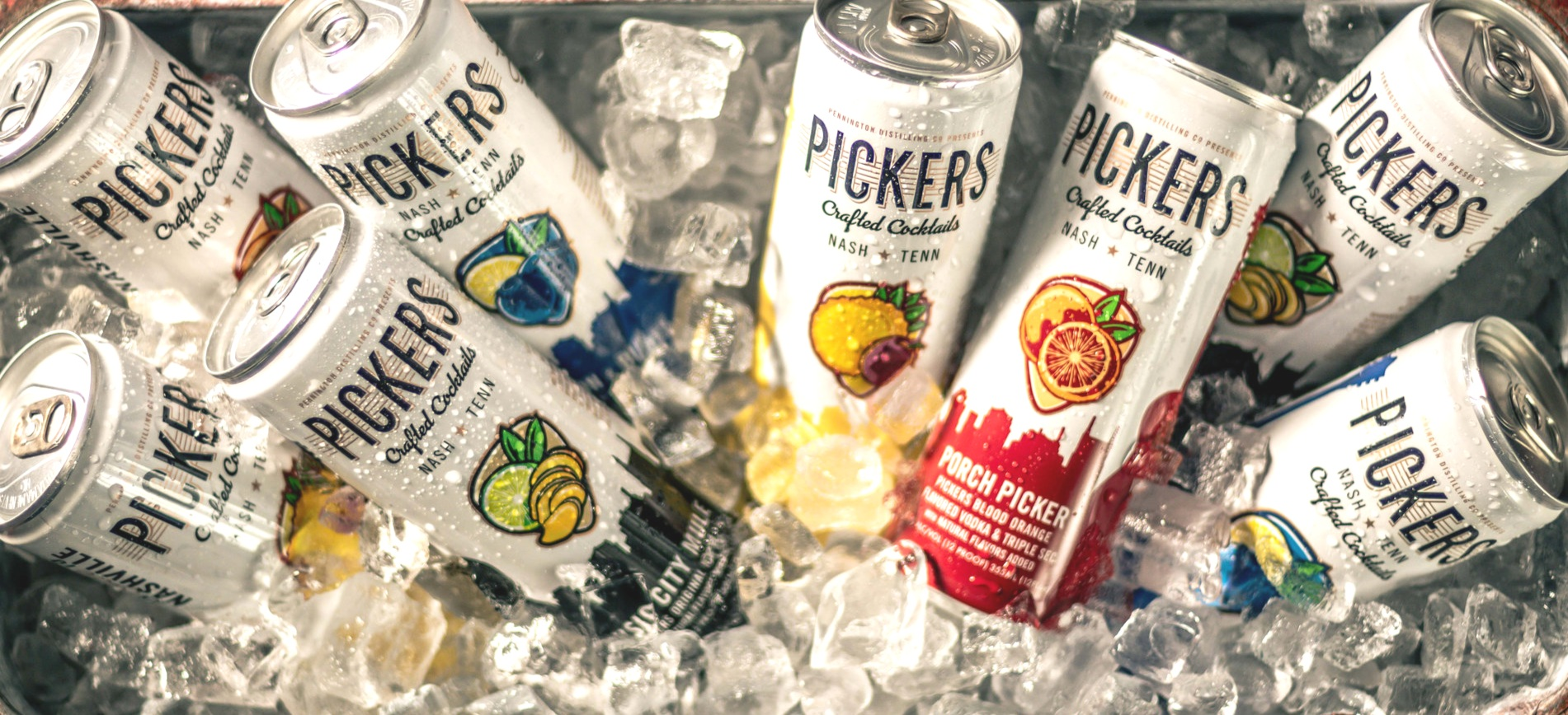 Canned Cocktails — Pickers Vodka