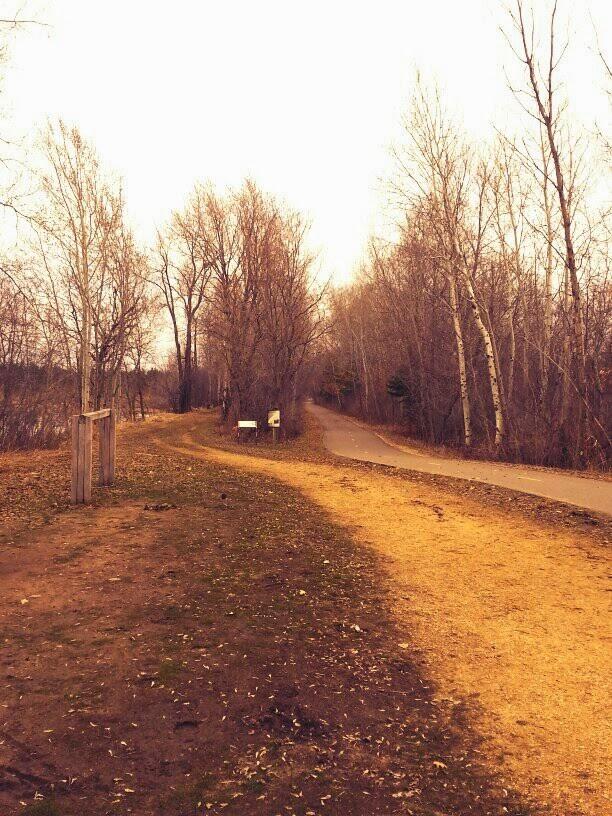 East on Gateway Trail